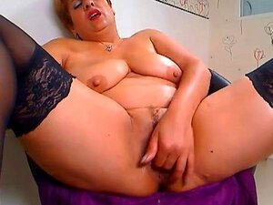 Fat mature and fist anal