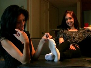 Sock tickling videos