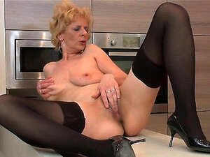 Kelly J - Blonde housewife is so horny she